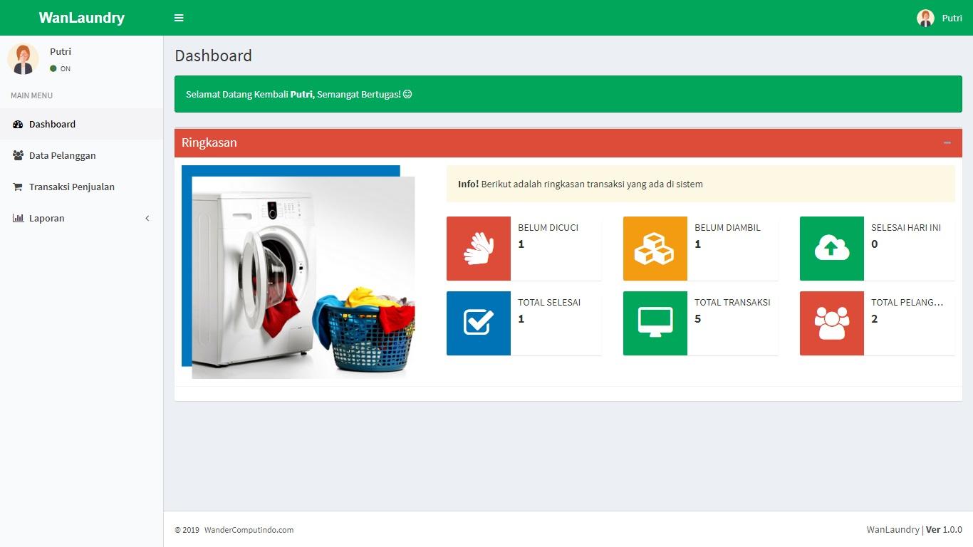 Aplikasi Penjualan Laundry