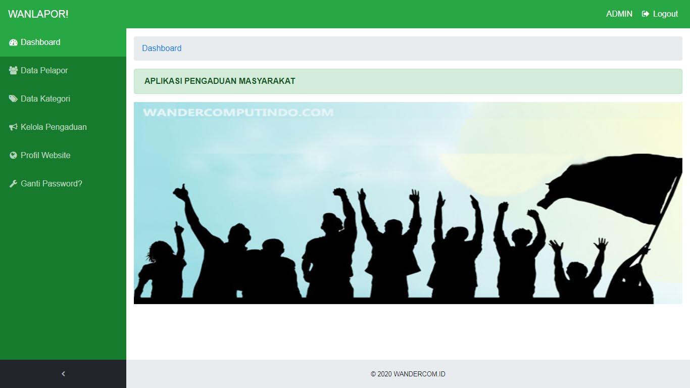 Aplikasi Pengaduan Masyarakat