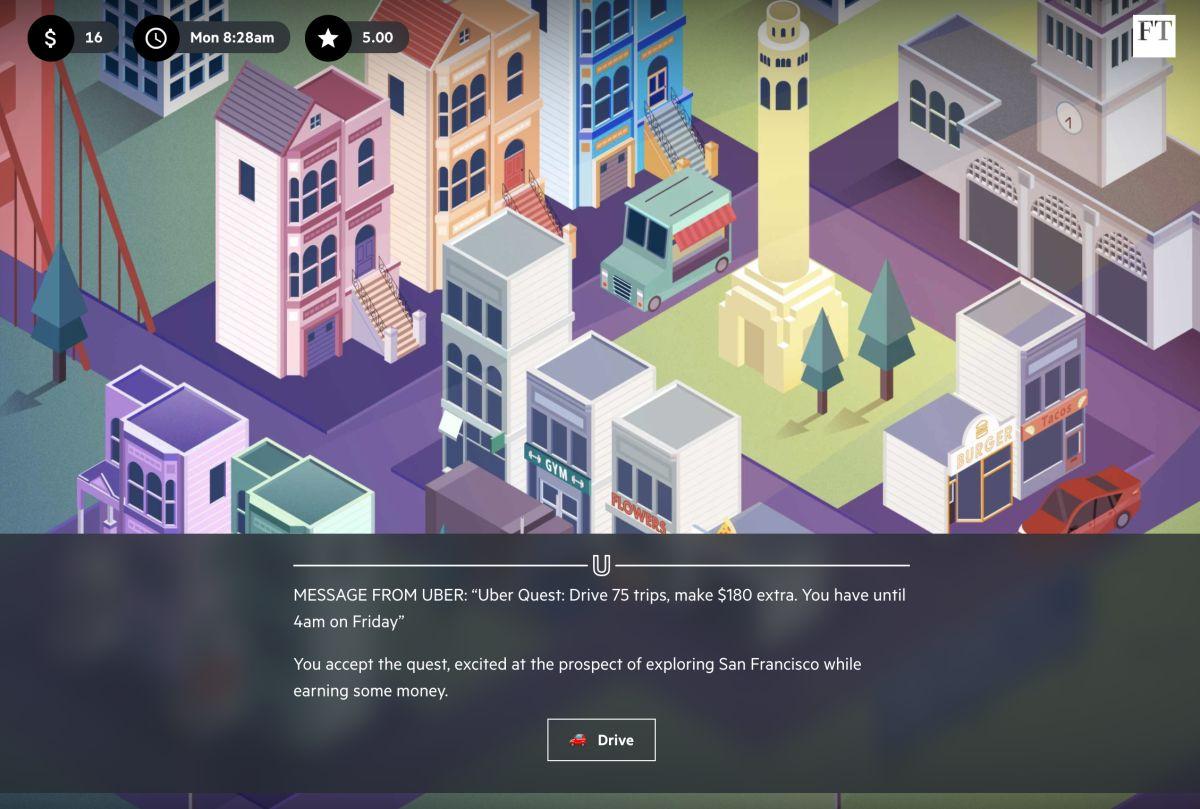 Uber Game screenshot