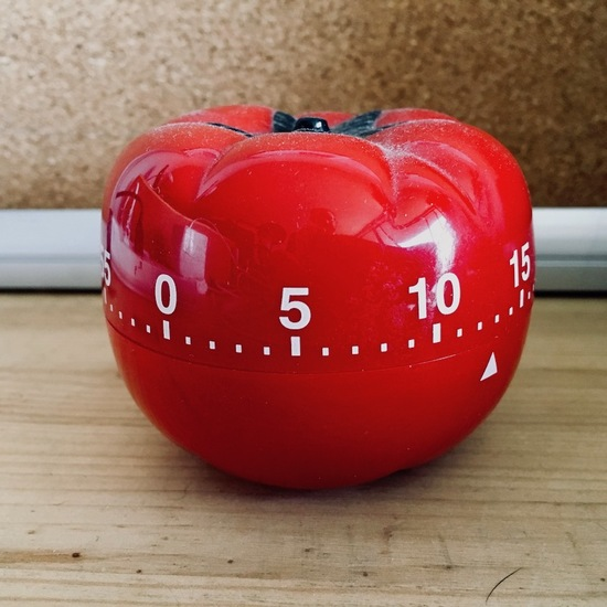 My tomato Pomodoro timer