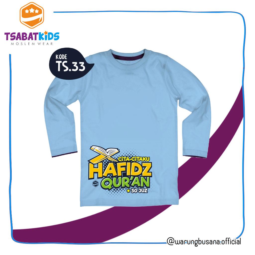 Kaos anak TSABATKIDS TS33 Hafidz Quran