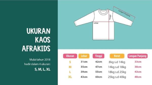 Kaos anak Afrakids AF185