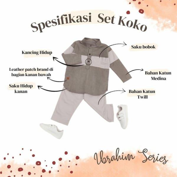 Set Koko Anak Ibrahim by Upright