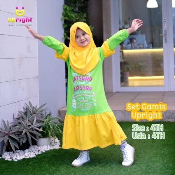 Set Gamis Anak Muslim by Upright