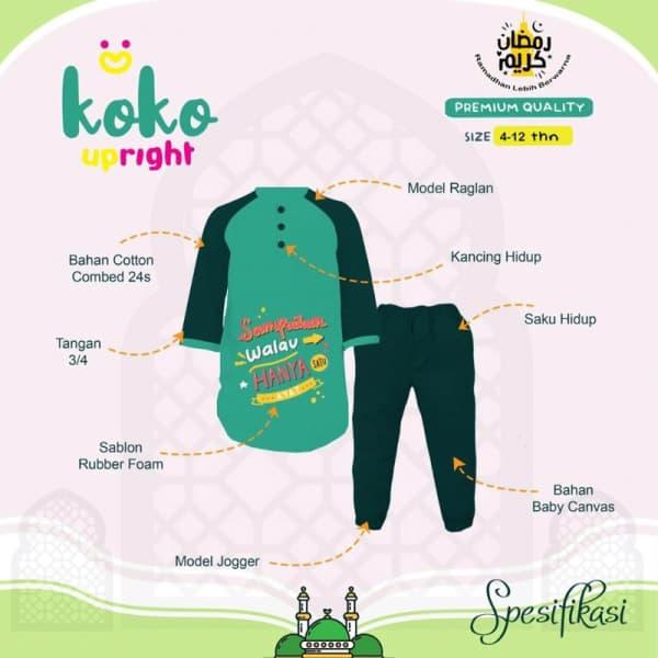 Koko Joger Anak By Upright