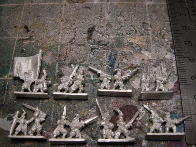 Warmonger Miniatures  Landsknechte with Zweihänder (Great Swords)