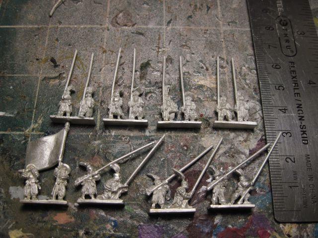 Warmonger Miniatures Landsknecht Pikeniere (Pikemen)