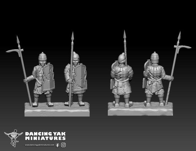 10mm Terracotta Army Ta01-e