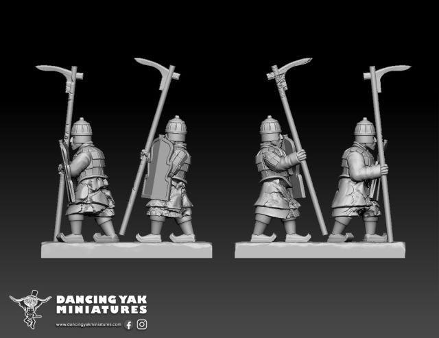 10mm Terracotta Army Ta01-c