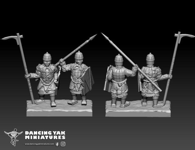 10mm Terracotta Army Ta01-f