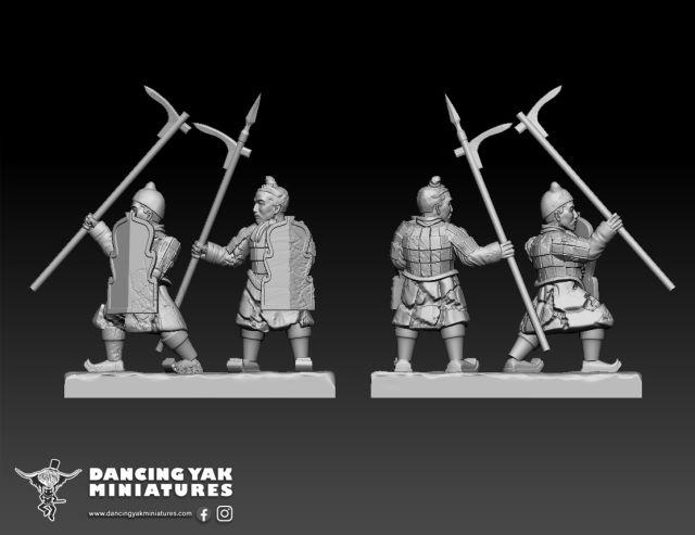 10mm Terracotta Army Ta01-b