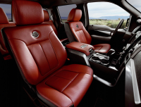full grain leather seat