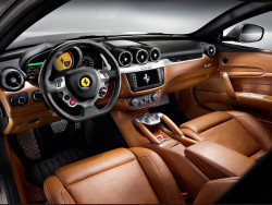 aniline car leather seat ferrari
