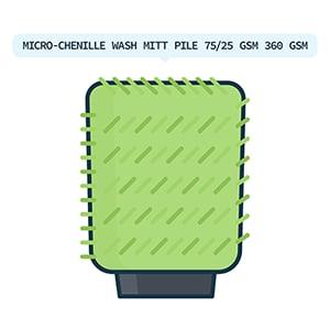 microfiber mitt