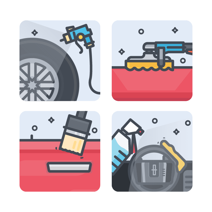 car detailing process