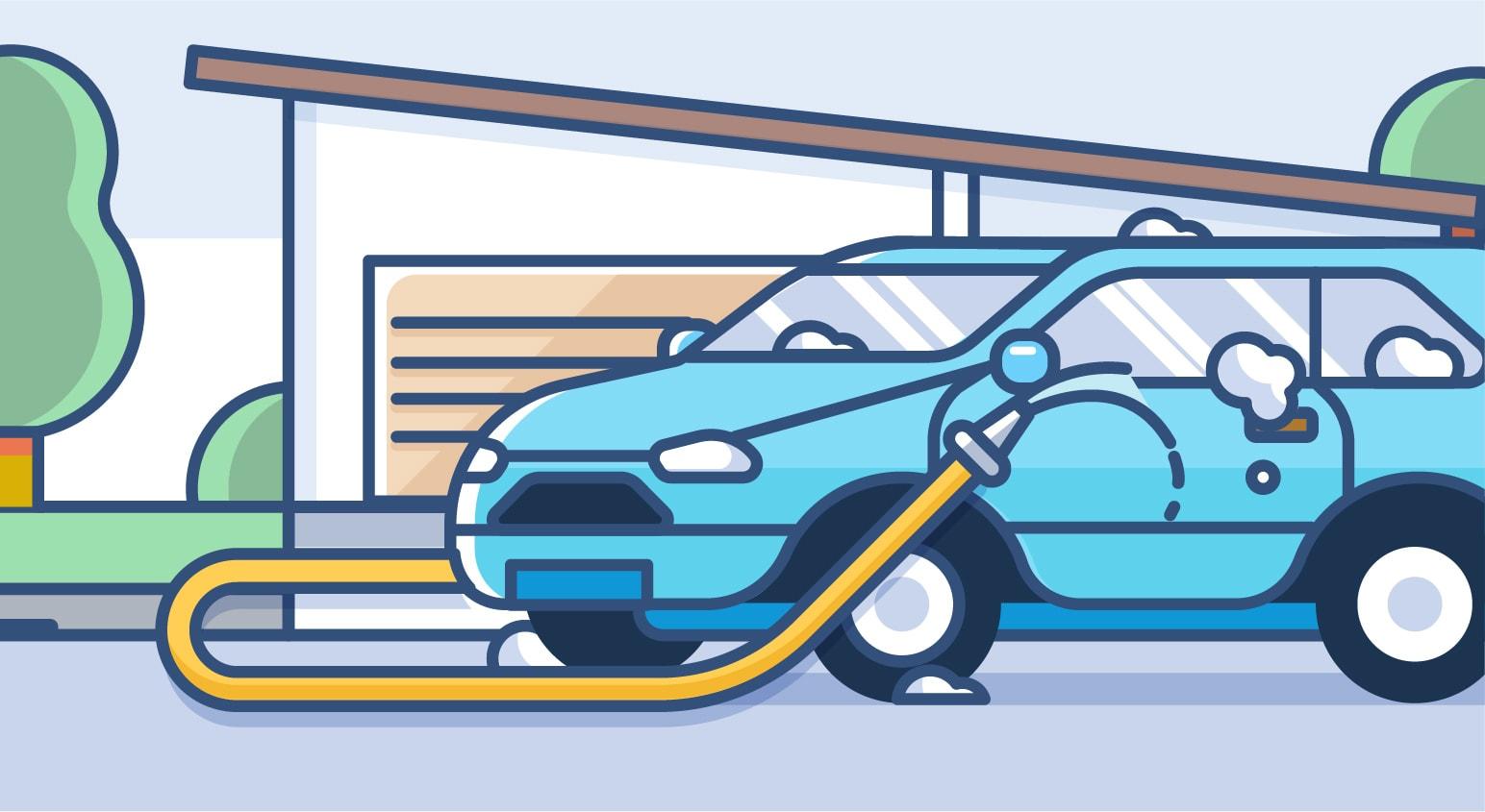 At-Home Car Wash