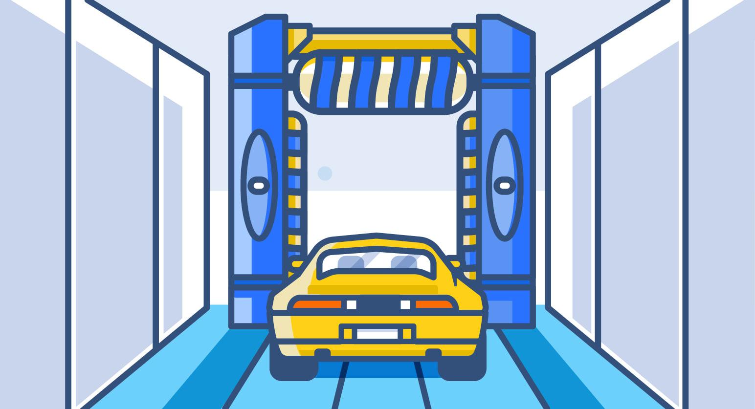 Automatic/Drive-Through Car Wash