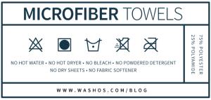 microfiber towels care