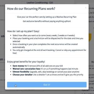 Recurring plan 2