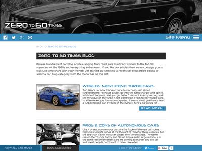 The 100 Best Car Blogs of 2016   Washos Blog