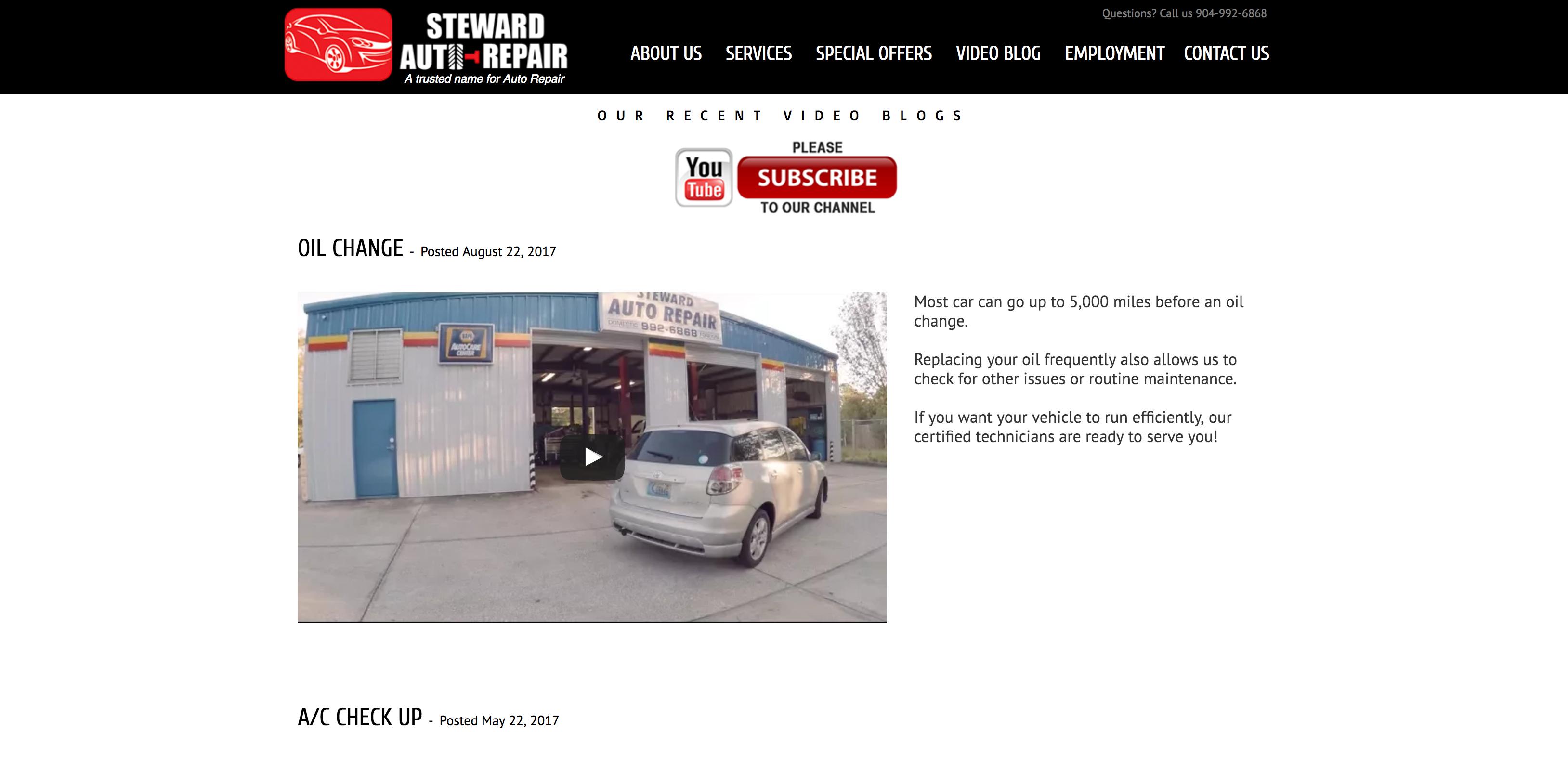 steward auto repair