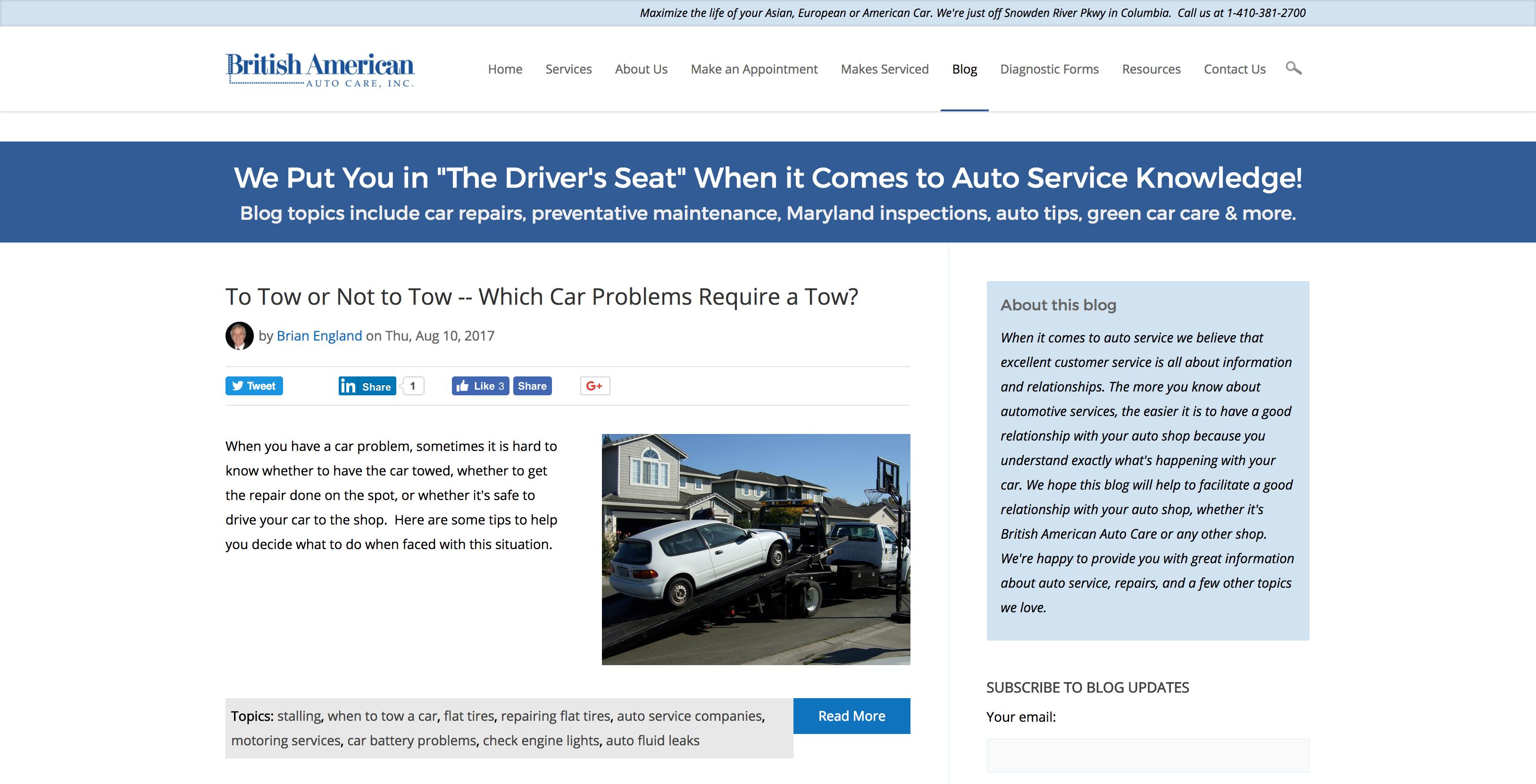 british american auto care