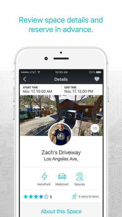 pavemint parking app screenshot 4