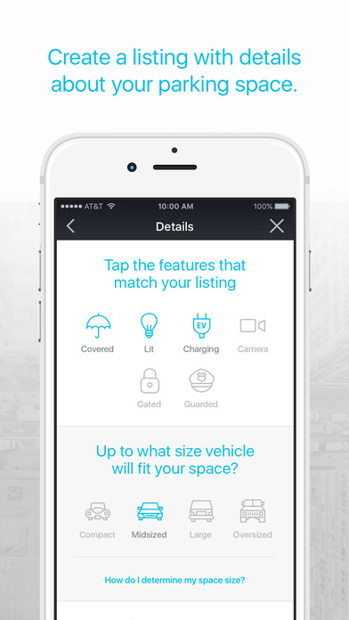 pavemint parking app screenshot 3