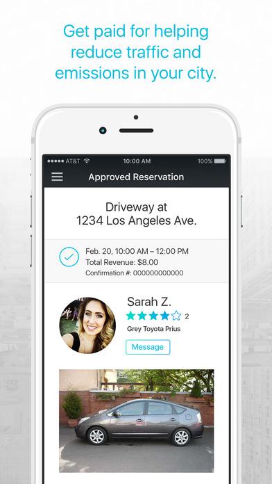pavemint parking app screenshot 1