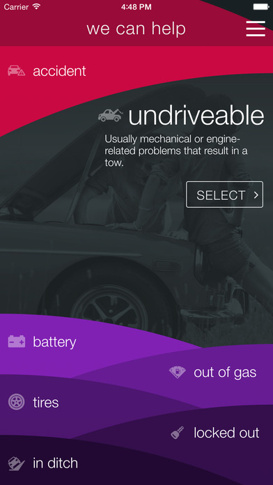 honk car app screenshot 2
