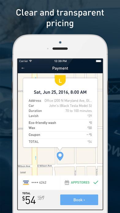 washos app screenshot 5