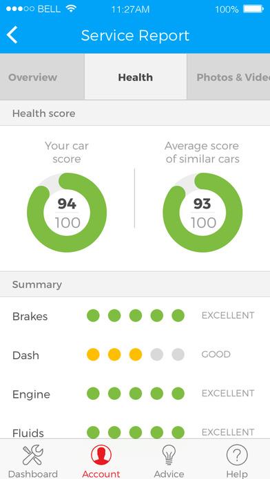 yourmechanic car apps screenshot 4