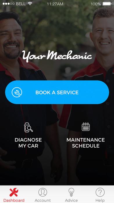 yourmechanic car apps screenshot 2