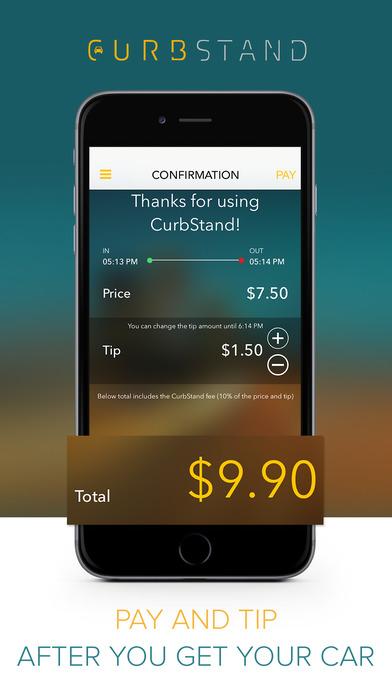 curbstand car apps screenshot 3