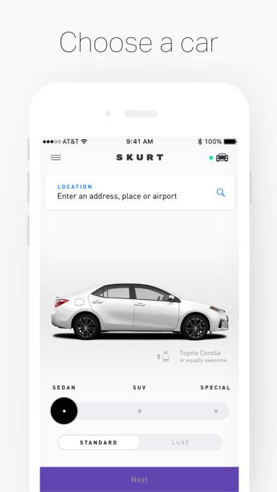 skurt car apps screenshot 3