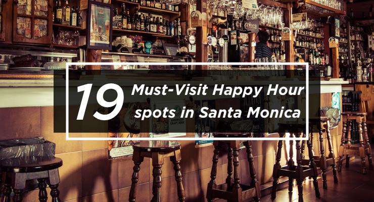 happy hour santa monica