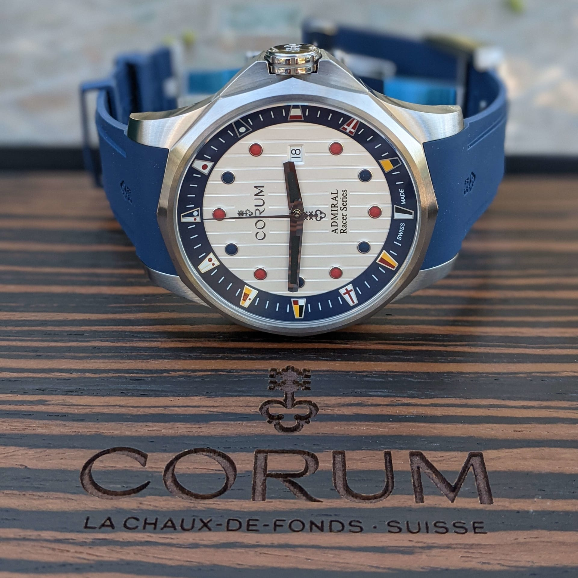 Corum Admiral's Cup Racer Limited Edition