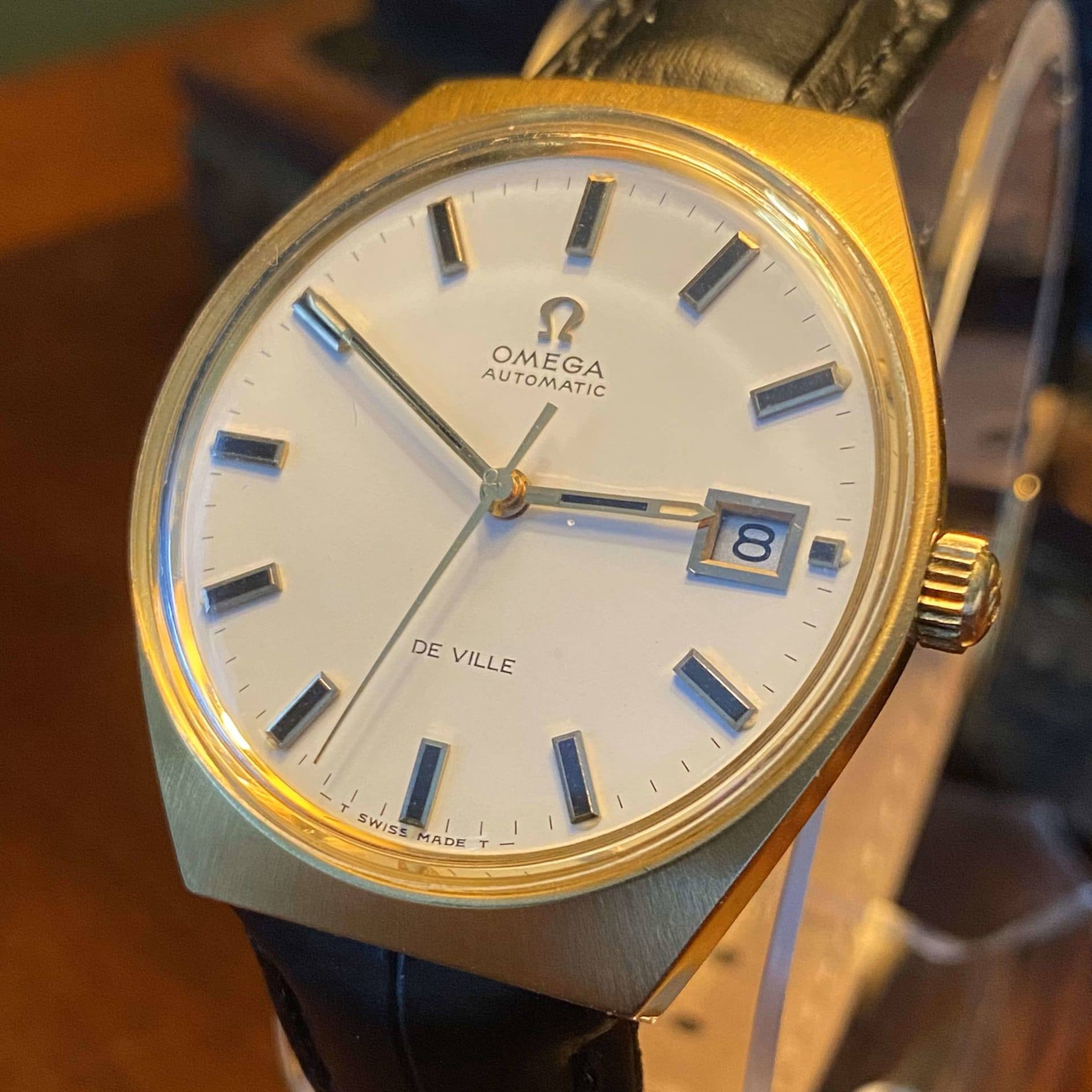 Omega Gold-Capped DeVille 35mm Automatic