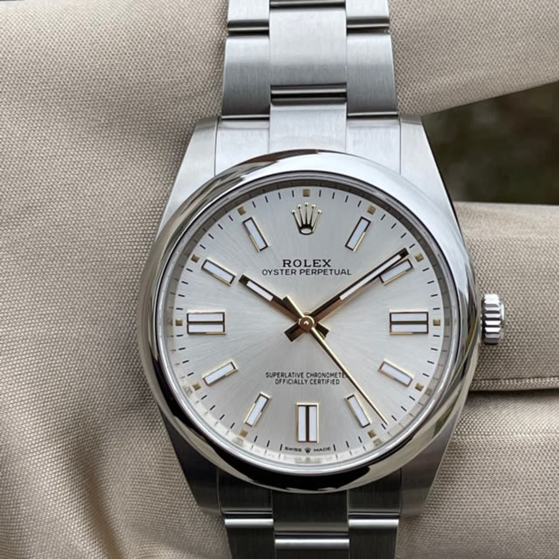 New Rolex Oyster Perpetual 41mm