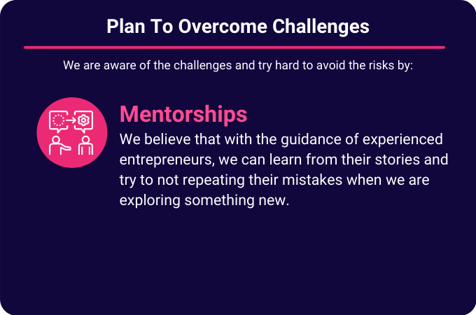 Plan to Overcome Challenges