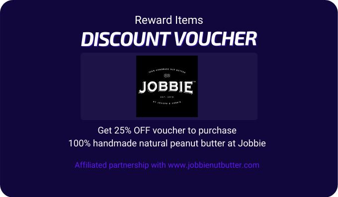Jobbie Nut Butter Voucher