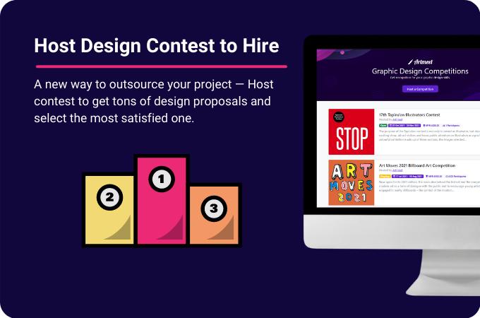 Host Design Contest to Hire