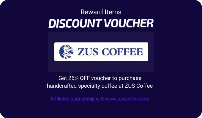 ZUS Coffee Voucher