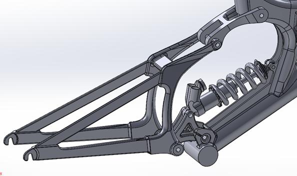 Rear Suspension CAD