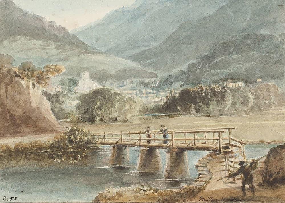 Old Miller Bridge | Watercolour World