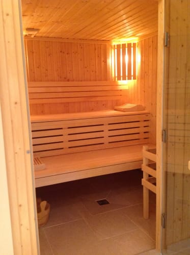 Sauna du Spa du Cap