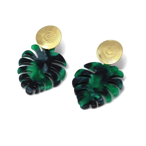 BOUCLES  FEUILLE 24€