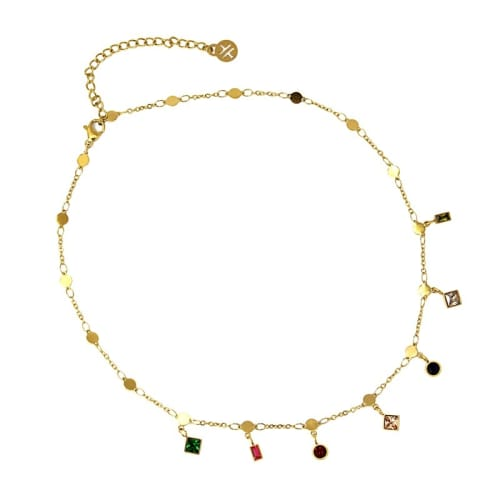 COLLIER CHARMS 44€