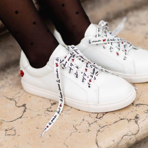 Sneakers simone in love lacets Bon baisers de Paname 140€