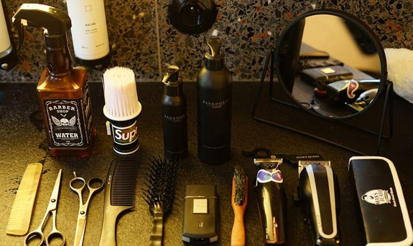 Equipement barbier